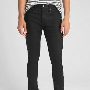 Gap Selvedge Skinny Jeans with GapFlex 29/34 Black